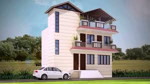 triplex house design india youtube
