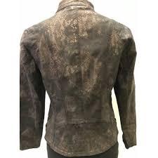 fred sabatier sabatier black and bronze jacket