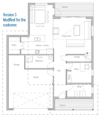 contemporary home design ch9 floor plans and images from outside
