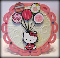 Hello Kitty Birthday Invitation Card Jingvitations Hello Kitty Birthday Party Invitations