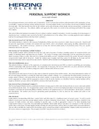 disability support worker resume example sample resume for disability support worker resume for your job personal support worker resume objectives