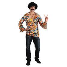 halloween hippie costume mens groovy flower power psychedelic halloween fancy dress hippie