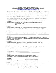 Resume First Job Template Sample Career Objective Examples Objectives For Resume First Job