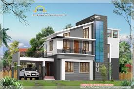 Duplex Building Modern Duplex Villa Elevation Kerala Home Design House Plans