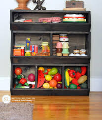 Diy Toy Storage Ideas Build A Toy Storage Bin Toy Emporium Diy Play Food Organizer