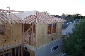 How To Frame A Hip Roof Addition Roof Framing Soffit Connection For Home Addition With Sloping Roof
