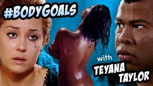 Teyana Taylor Meme - want a body like teyana taylor s in kanye west s gym exercise dont