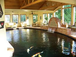 indoor koi pond yes please i love this a pool i