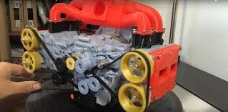 subaru boxer engine guy builds 3d printed subaru ej20 boxer engine that works