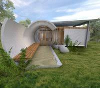 earth berm home problems sheltered cost per square foot plans