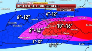 Kentucky travel weather images Another 1 quot 3 quot of snow possible this evening jpg