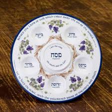 buy seder plate messianic seder set