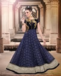 blue wedding dress designer buy unique anarkali dresses india blue designer indian
