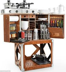 Kitchen In A Box Camp Champ Gives Chefs All The Tools They Need - Camping kitchen with sink