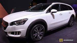 peugeot 508 2015 2015 peugeot 508 rxh 2 0 hdi exterior and interior walkaround