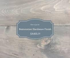 gray restoration hardware stain recipe pretty handy good