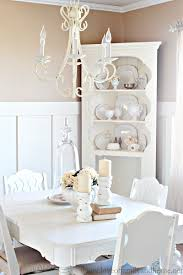 white corner hutch for dining room home design ideas