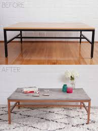 coffee tables mesmerizing diy wood copper coffee table by jenny