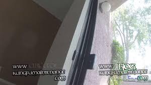 Patio Screen Door Repair Porch Patio Sliding Screen Door Not Latching Easy Fix For Bent