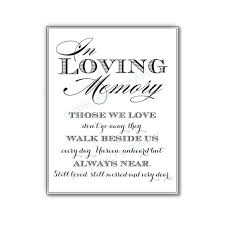 wedding memorial sign in loving memory wedding sign memorial table by purplepeonycouture