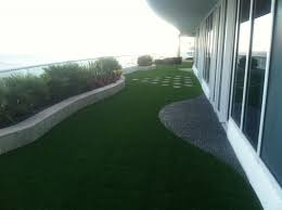 Fake Grass For Patio Green Rooftops Terraces And Balconies Durafield