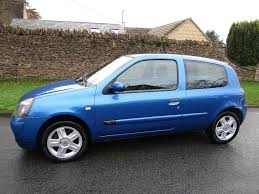 renault clio campus sport 2006 manual petrol 1 2 blue under