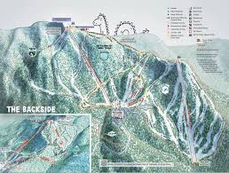 Utah Ski Resort Map by Trail Map