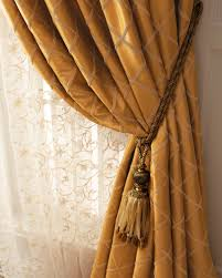 Curtain Tie Backs Anthropologie by Each Paramount Grid Curtain 108