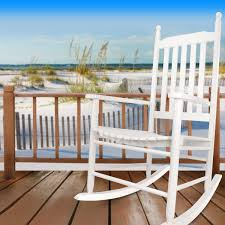 Wooden Rocking Chair Amazon Com Hyannis Port All Season Outdoor Wood Rocking Chair