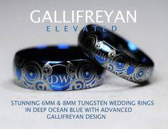 dr who wedding ring 8mm sapphire cz tardis design my birthstone bracelets and dr who