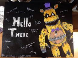 painting fnaf fnaf fredbear drawing painting by irlcreations on deviantart