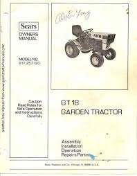 Sears 917 257120 Owner S Manual