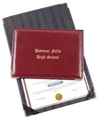 diploma holder deluxe jr size diploma holder 0323 marlo plastic products inc