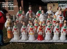 Vintage Christmas Decorations For Sale Vintage Blowmold Holiday Decorations U2013 Modern Kiddo