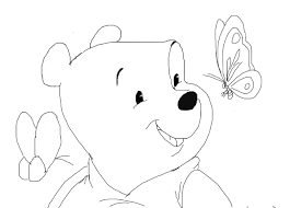 winnie the pooh sketch by azzycartoons toys drawing