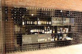 metal bottle rack wall mounted contemporary commercial