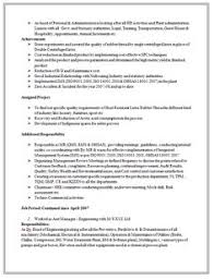 Employee Resume Sample by Example Template Of An Excellent Icwa And M Com Resume Sample With