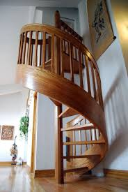 model staircase modern space saving stairs ideas wooden spiral