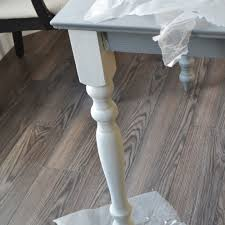 White Painted Coffee Table by A Shabby Chic Farmhouse Table With Diy Chalk Paint The Diy Mommy