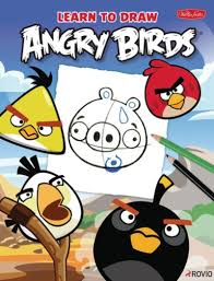 learn draw angry birds scholastic
