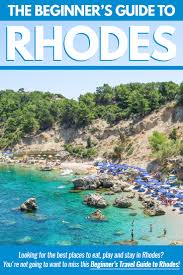 Greece Islands Map by Rhodes 101 The Beginner U0027s Guide To The Greek Island Of Rhodes