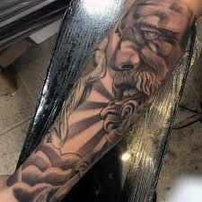 greek mythology tattoos design for men