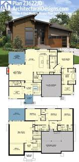 modern home design 4000 square feet plan 430006ly 4 bed modern house plan with upstairs in law suite