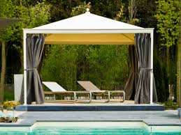 great living outdoor ideas with canopy gazebo using square hard