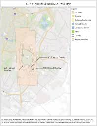City Of Austin Zoning Map by What Is The Airport Overlay And How Can It Affect My Project