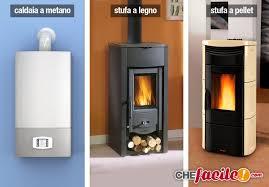 caldaia a pellet per riscaldamento a pavimento a metano o stufe a pellet o legna cosa conviene