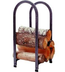 indoor log racks and firewood holders organize it