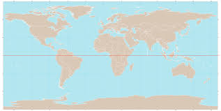 Equator Map South America by Image Gallery Equator Map