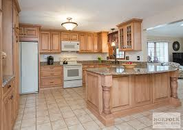 kitchen with light maple cabinets tewksbury kitchen remodel with maple cabinets walnut glaze