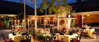 Hton Bay Landscape Lighting The Three Palms Restaurant Resort Montego Bay